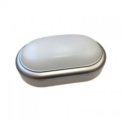 LED ochranné plastové svietidlo oválne, IP54, 15W, 1050lm, 4000K, 221mm, neutrálna biela