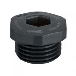 M20x1,5 V-Ex záslepka, čierna