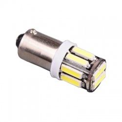 LED438W A-LED 12V (T4W) Ba9s číra 10xLED 7020