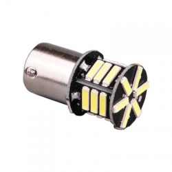 LED433W A - LED 12V 21W BA15s číra 21xLED 7020