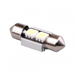 LED417W A-LED 12V (C10W) SV10x31 číra 2XLED5050 CANBUS