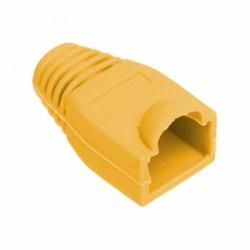 Kryt pre konektor RJ45 8P8C, žltý