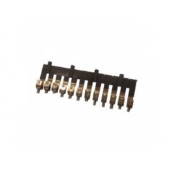39411 mostík pre svorky 4mm2, 12-pólový
