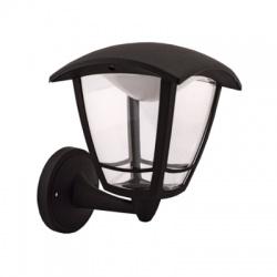 deLUX 8W LED vonkajšie nástenné svietidlo, hore