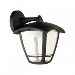 deLUX 8W LED vonkajšie nástenné svietidlo, dole