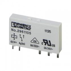 REL-MR- 60DC/21, 1 prep. kontakt, 250V, 6A, relé