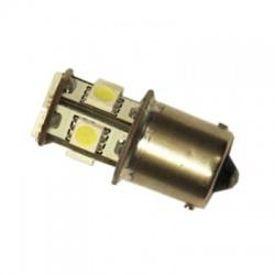 LED105W A-LED 12V (R5W) Ba15s číra 8xSUPER