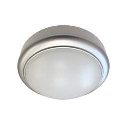 LED ochranné plastové svietidlo kruhové, IP54, 15W, 1050lm, 4000K, 180mm, neutrálna biela