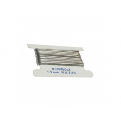 1,5mm, Sn60Pb38Cu2 spájkovací drôt, 10g