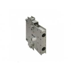 6A, 230V, AC-15, 1NO/1NC, pre veľkosti 0-12, pomocný kontakt, bočný