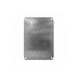 300x250mm, montážna platňa pre Minipol, kovová