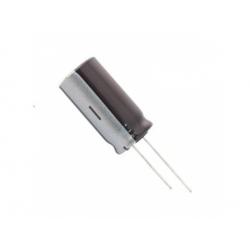 E105 100uF/25V TKR, 105°C, kondenzátor elyt