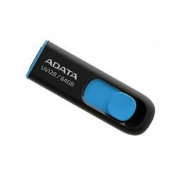 64GB USB 3.0 kľúč, výsuvný, čierny+modrý