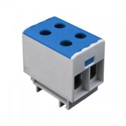 2x1,5-50mm2 OTL 50-2 univerzálna svorka, modrá
