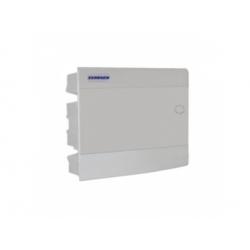 3x12 modulov, IP40, zápustná rozvodnica, dvere biele