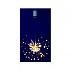 MFW 120/WW micro LED fireworks dekorácia, multicolor, 8 programov