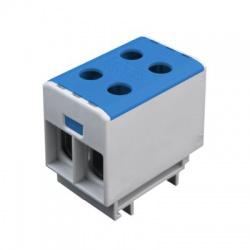 2x1,5-50mm2 OTL 50-2 modrá univerzálna svorka