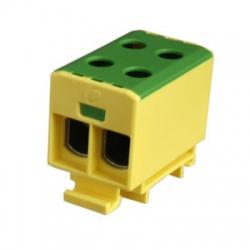 2x1,5-50mm2 OTL 50-2 zelenožltá univerzálna svorka