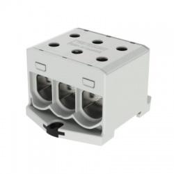 3x1,5-50mm2 OTL 50-3xAl sivá univerzálna svorka