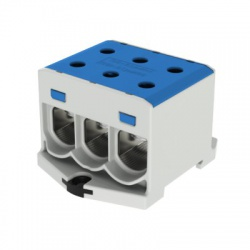 3x1,5-50mm2 OTL 50-3xAl modrá univerzálna svorka