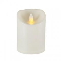 LED sviečka s pohybujúcim sa plameňovým efektom