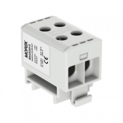 2x2,5-35mm2 OTL 35-2xAl sivá univerzálna svorka
