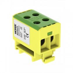 2x2,5-35mm2 OTL 35-2xAl zelenožltá univerzálna svorka