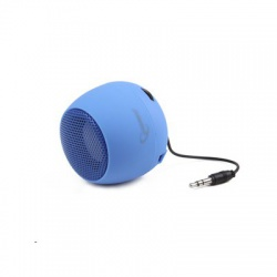 Prenosný reproduktor GEMBIRD - modrý