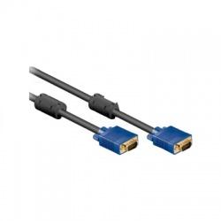 VGA pripojovací kábel, 15pin HD, 1,8m