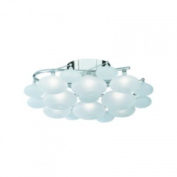 DULCIE 8LT CC FLUSH WH GLASS PEBBLES