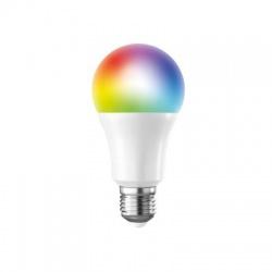 LED SMART WIFI žiarovka, klasický tvar, 10W, E27, RGB