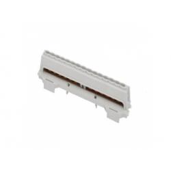 E 2x7-vývodový, rozbočovací mostík, šedý
