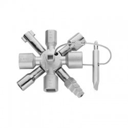 Univerzálny kľúč na otváranie skríň KNIPEX