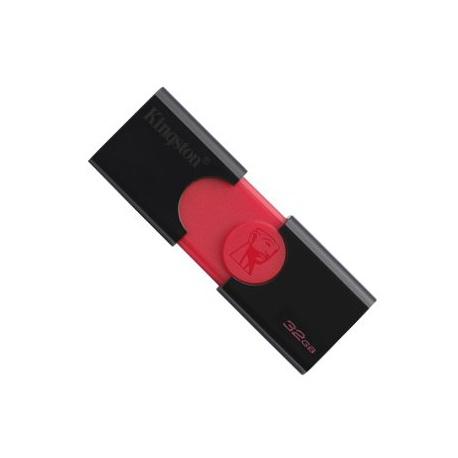 32GB USB 3.0/2.0 kľúč, čierno - červený