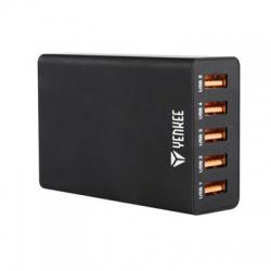 YAC 3005BK USB nabíjačka 5port 8A YENKEE