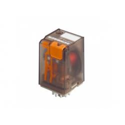 3 prep. kontakty, 110V, DC, 10A, relé multifunkčné