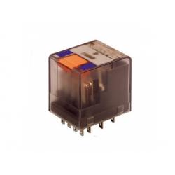 4 prep. kontakty, 230V, 6A, AC, relé