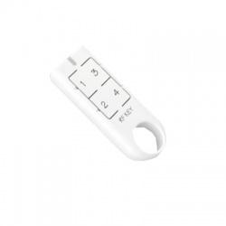 RF KEY/W biela kľúčenka 4 tlačidlá (CR2032)