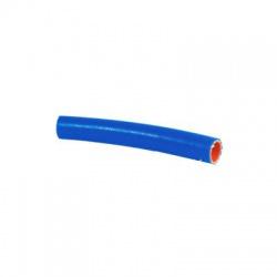 Hadica na horúcu vodu a chladiace kvapaliny, 10/18mm, silikón, -55°C/+180°C, modrá