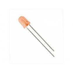 LED 5mm 25mcd, oranžová