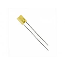 LED 2x5mm 4mcd, žltá