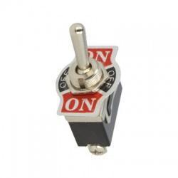 TSP103AA3, ON-OFF-ON, 10A/250V, 3-pólový, páčkový prepínač