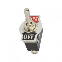 TSP101AAA1, OFF-ON, 15A/250V, 2-pólový, páčkový prepínač