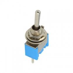 TSM103A2, ON-OFF-ON, 3A/250V, 3-pólový, páčkový prepínač