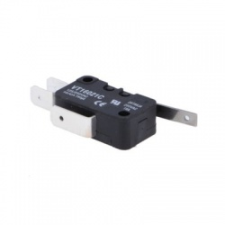 SPDT 14A/250V mikrospínač s páčkou, 1-polohové ON-(ON)
