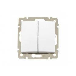 774408 Valena vypínač č.6+6, biely