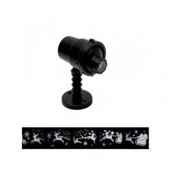 DL IP 6 LED projektor, otáčajúce sa vzory