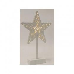 LED stolová dekorácia, hviezda, 4,5V