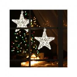 LED hviezda do okna