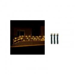 LED 200 vianočná svetelná reťaz, teplá/teplá biela